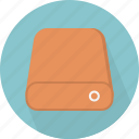 drive, hard disk, hdd, network, portable, storage, technology icon