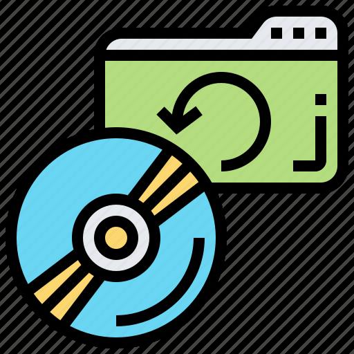 backup, disks, folders, server, support icon
