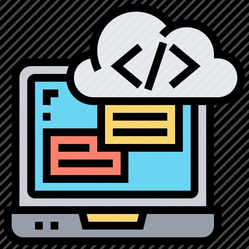 coding, computer, encrypt, programming, software icon