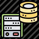 access, database, engine, performance, powerful icon