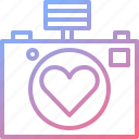 camera, capture, dating, photo, romantic icon
