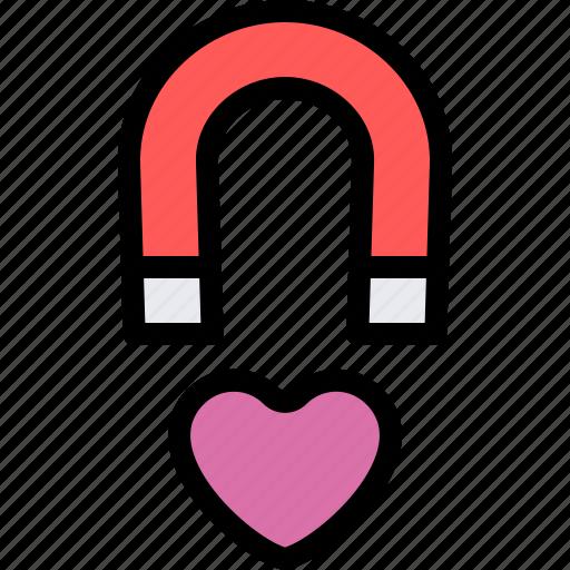 date, love, magnet, night, romantic icon