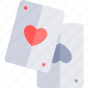 aces, date, love, night, romantic icon