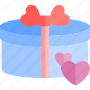 date, gift, love, night, romantic icon