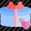 date, gift, love, night, romantic icon