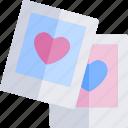 date, love, night, photographs, romantic icon