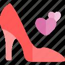 date, heels, high, love, night, romantic icon