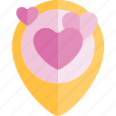 date, love, night, placeholder, romantic icon