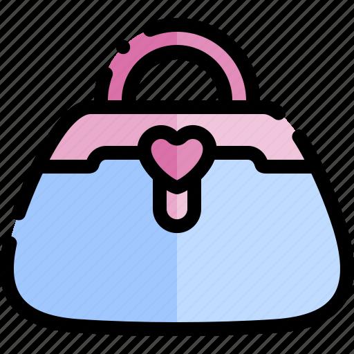 date, love, night, purse, romantic icon