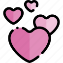 date, love, night, romantic icon