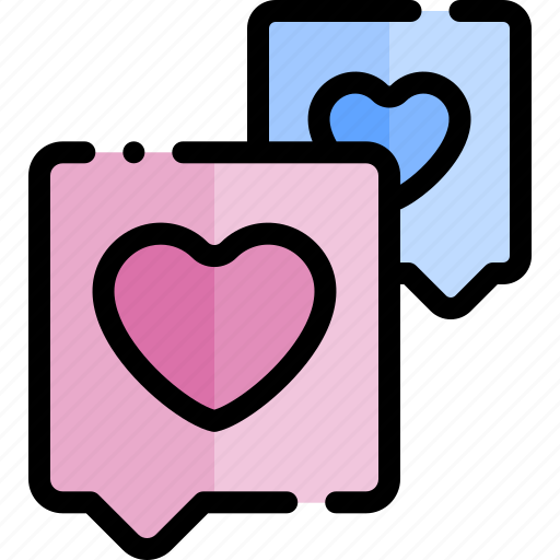 date, love, night, romantic, talks icon