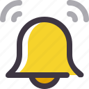 alarm, bell, notification, ring icon