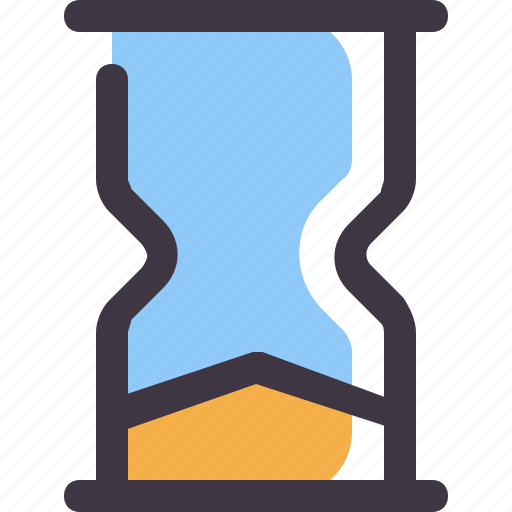 Clock, end, hourglass, time icon - Download on Iconfinder