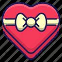 gift, love, valentine, present