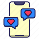 love, chat, message, dating, app