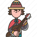 guitarist, musician, music, acoustic, artist icon