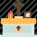 altar, ceremony, christian, spiritual, religious