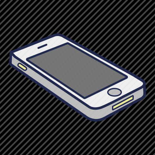 apple, iphone, mobile, phone, smartphone, telephone icon