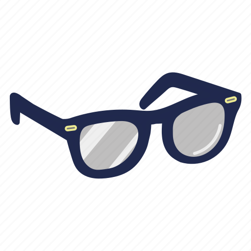 accessory, fashion, glasses, shades, shapes, style, sunglasses icon
