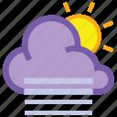 day, fog, cloud, forecast, sun, weather