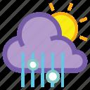 day, mix, rain, cloud, hail, sleet, sun