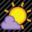 day, overcast, sunny, cloud, forecast, sun, weather