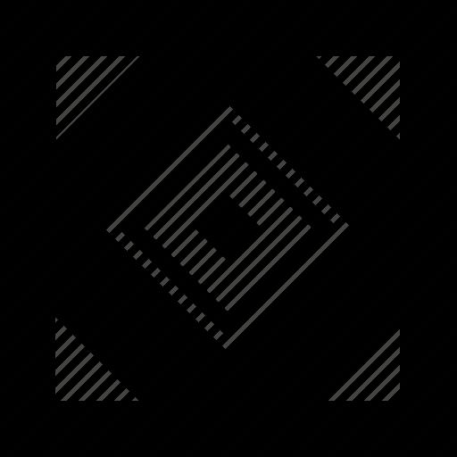 floor, geometry, square, tile icon