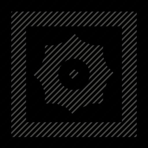 floor, geometry, square, texture, tile icon