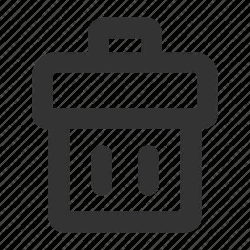 cancel, crap, delete, file, garbage, refuse, trash icon