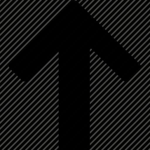 aloft, arrow, direction, up, upward, upwards icon