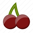 cherry, food, fruit, healthy, slots icon