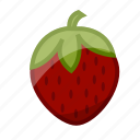 food, fruit, healthy, slots, strawberry icon