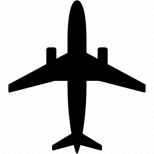airplane, airport, delivery, plane, transportation, travel icon