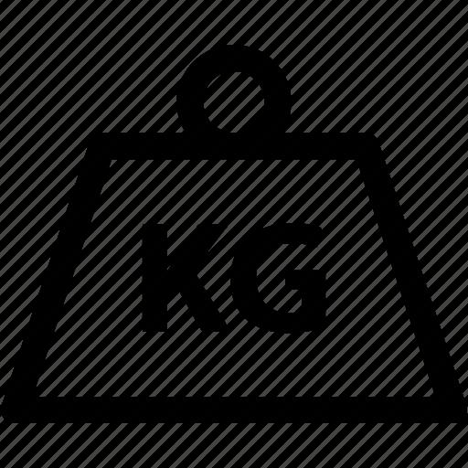 fitness, gym, kilo, kilogram, scale, sports, weight icon