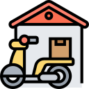 delivery, home, postal, courier, service