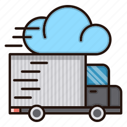delivery, fast, logistics, speed, truck icon