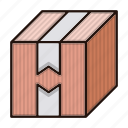 box, delivery, logistics, package icon
