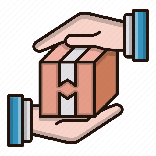 delivery, logistics, package, protection icon
