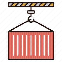 delivery, loading, logistics, package icon