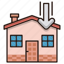 delivery, estate, house, logistics, order, processing icon