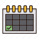 delivery, event, logistics, reminder, schedule icon
