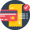 bill, card, digital, online, pay, payment icon