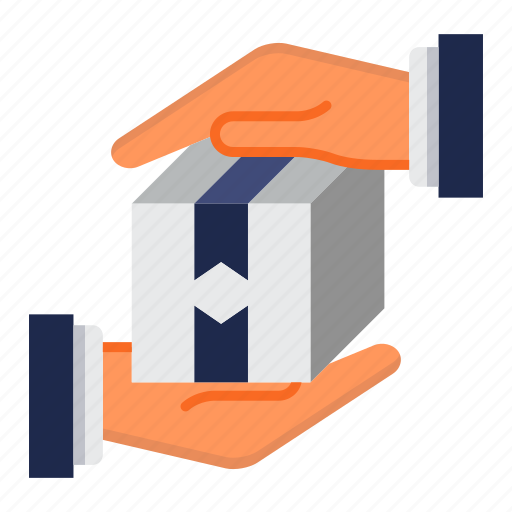 box, delivery, package, protection icon
