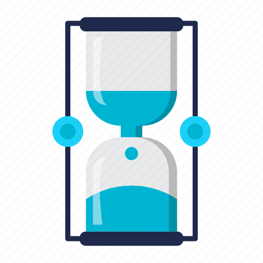 delivery, hourglass, processing, time icon
