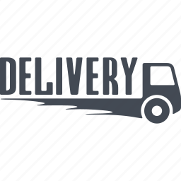 delivery, freight haulage, shipping, truck icon