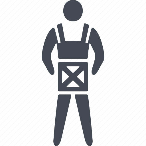 delivery, human, postman, uniform icon