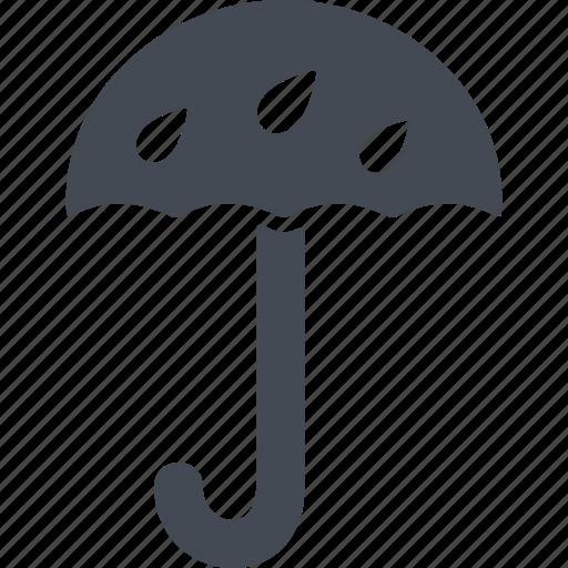 delivery, rain, rain protection, umbrella icon