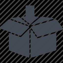 box, delivery, p.p., parcel icon