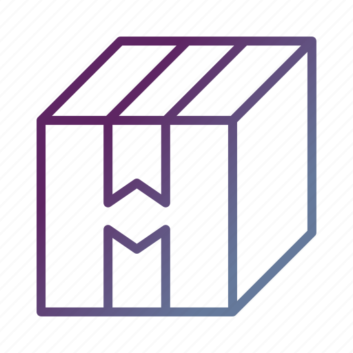 box, delivery, logistics, package, shipping icon