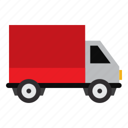 delivery, expedition, job, transportation, truck, vehicle, work icon